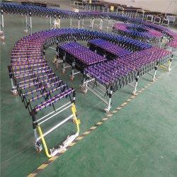 تحميل معدات التحميل الثقل الناقلات البلاستيكية لبكرات العجلة بنظام الفرامل المانعة للانغلاق
