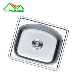 Utensílios de Cozinha Aço inoxidável um dissipador de água esticado