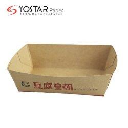 Commerce de gros de papier pour carton Kraft la plaque de cuisson du gâteau, Fast Food et de la partie repas