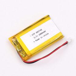 Li-polymeer de Batterijen van de Batterij Dtp802748 3.7V 2000mAh gebruikten Medische Apparatuur