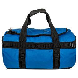 Sacchetto di Duffle resistente blu dello zaino del PVC della tela incatramata impermeabile per i bagagli del Duffel di corsa