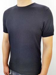 Cashmere homens a luz da T-shirt
