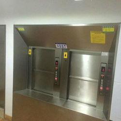 위아래 문이 열리는 그라운드 유형 Dumb웨이터 엘리베이터 사용된 레스토랑용