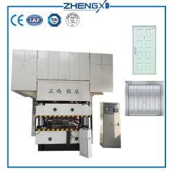 La peau de porte en acier hydraulique machine à gaufrer/ Plaque de porte hydraulique de gaufrage