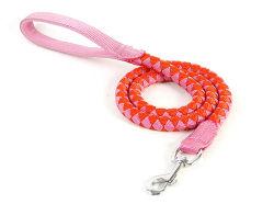 Cuerda de seda con banda reflectante de mascotas perros Correas de Nylon con el mejor precio de fábrica