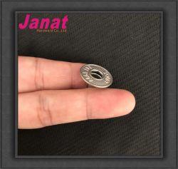 16mm Logotipo personalizado Denim Jeans el botón de pegado de metal