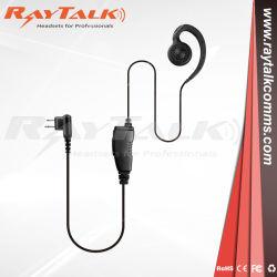 Bague en C de l'Écouteur avec microphone PTT en ligne pour les radios Motorola CP040 CP200
