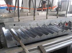 Extrudeuse en plastique PVC Extrusion de feuilles de tuiles d'onde gamme de machines de production