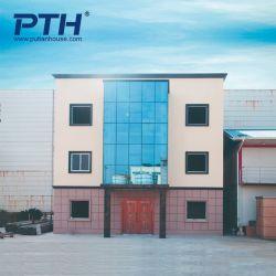 3-этажное жилое здание с сегменте панельного домостроения в легких стальных кадрирования и Alc панели