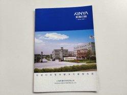 Kundenspezifische Entwurfs-Farben-Drucken-Firma-Broschüre, Blättchen