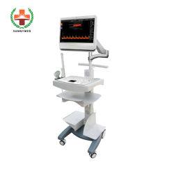 Sy-A034 Nouveau médical Doppler couleur 15 pouces écran tactile de l'hôpital de la machine à ultrasons