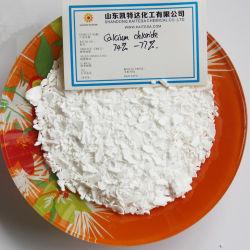 칼슘 염화물 연백 안료 77% 음식 급료