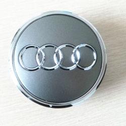 A4 A6 A8 Las tapas de caja de coche del centro el emblema de la rueda de la cubierta del centro del cubo de 60mm 68mm para Audi