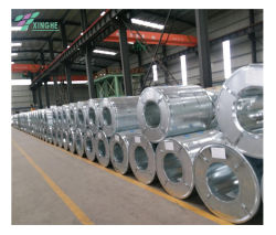 Volledig hard-koolstofijzer gegalvaniseerde coil met zink-coating, koud gewalst GI Metal Zink Z20 voorgeprepaineerde galvaniseerde stalen spoel