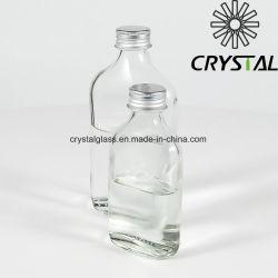 يخلو شراب مسطّحة زجاجيّة كحول زجاجة كحول زجاجات