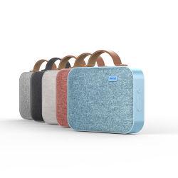 Mini altoparlante di Bluetooth del tessuto del metallo con gli altoparlanti portatili senza fili di Bluetooth del manubrio