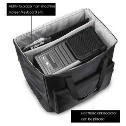 Alta Qualidade o logotipo personalizado Eco-Friendly tecido impermeável Câmera durável Saco para computador
