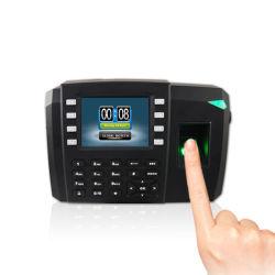 El control de acceso biométrico de huellas digitales multimedia TFT Terminal (600).