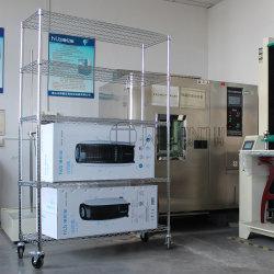 Rollende 5 Reihe-Kohlenstoffstahl-industrieller Speicher-Hochleistungsdraht-Fach-Zahnstange