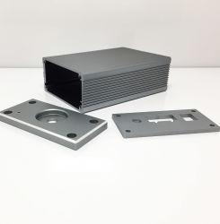 ملف تعريف بروز الحاوية الواقية من الألومنيوم، ختم CNC، قص الليزر وأكسدة المعالجة العميقة