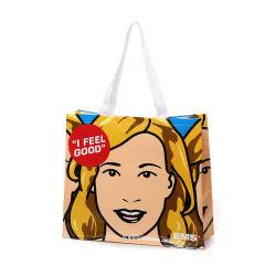 Le vendite dirette delle borse multicolori RPET Lixin del panno rivestito di commercio estero, Non-Woven d'acquisto dei regali insacca i sacchetti di acquisto del supermercato