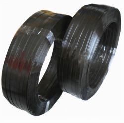شريط معدني أسود مرفاع لأشرطة البولي إستر لسلك التغليف