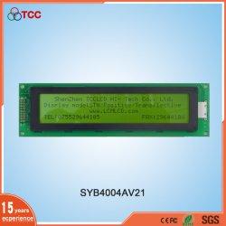 Custom 40*4 Caractere Stn Display LCD I2C do Módulo de Interface de série 40X4 Ecrã LCD com retroiluminação LED