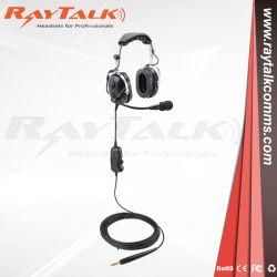 AAviation Ground Support ヘッドセット、高ノイズ低減定格