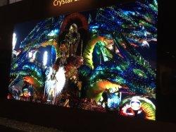 Для использования внутри помещений P2.5 полноцветный светодиодный экран на панели телевизора