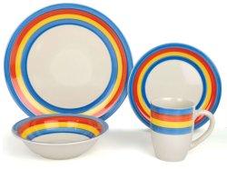 Estoque grossista grés Louça de mesa de jantar em conjunto para Home&Restaurante