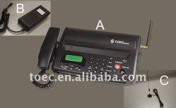 GSMの無線ファクシミリ