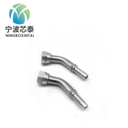 Hydraulikdruckprüfung Schlauchkupplung Carbon Stahl Edelstahl Hydraulik Hochdruck-Schlauchkupplung Metrisch Us Zoll