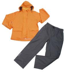 Полиэфирная пленка ПВХ водонепроницаемый открытый спортивный костюм от дождя для взрослых