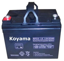 12V33ah SMF VRLA Battery Np33-12