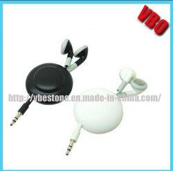 참신 자석 (15P260 재) 철회 가능한 이어폰 헤드폰