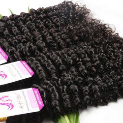 Le mongol Kinky les cheveux bouclés 3bundles cheveux bouclés profonde vierge, pas cher en mongol Afro Kinky Curly Vigin Tissage de cheveux humains