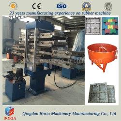 중국 최고의 Exporter 고무 타일 제작 기계/고무 바닥 기계