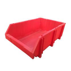 100 % PP matériau vierge de grande taille Boîte de rangement empilables en plastique