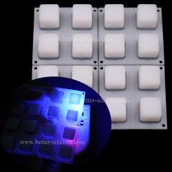 シリコーンゴム4X4 LED音楽ボタンのパッド