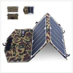 Klappbares tragbares 10-W-Ladegerät für Solarmodule für mobile Stromversorgung