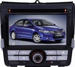 6,2-дюймовый сенсорный экран специальный автомобильный DVD проигрыватель для города Honda с Bluetooth, Системы навигации GPS
