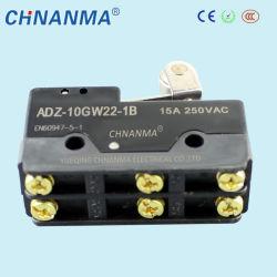 Acier inoxydable avec six micro-commutateur électrique du contacteur