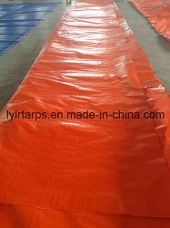 Полиэтиленовый тент погрузчик, PE мешок, оранжевого цвета полимерная брезентом