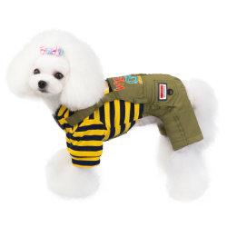 Perro Chaleco Polar untar Puppy camiseta de algodón banda Jumpsuit lindo perro caliente en invierno ropa de abrigo prendas de vestir Esg12446