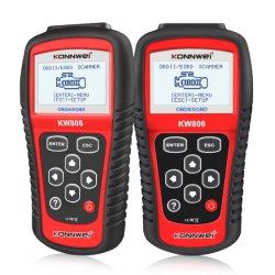 Konnwei Scanner OBD2 motor automotivo Universal de leitor de código de avaria de EOBD Obdii CAN Diagnostic Scan Tool
