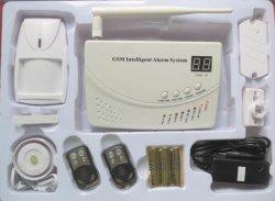 4 zones câblée intelligent avec voix d'alarme antivol SMS (ES-2000D)
