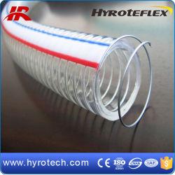 PVC 철강선 강화된 호스 또는 봄 호스 관