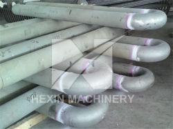Fundición centrífuga calefacción tipo U tubos de gas radiante.