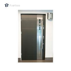 강도 증거는 304의 스테인리스 안전 등록 주거 문/현대 외부 스테인리스 정문을 디자인한다
