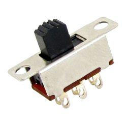 Питание Micro ползунковый переключатель 6A 250 В переменного тока